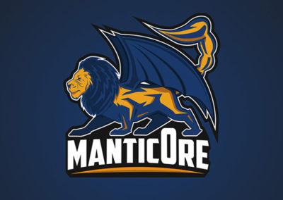 Logo Manticore Esport Edouard lefort